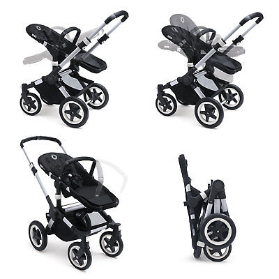 Bugaboo Buffalo with grey melange toppings -  Brand new