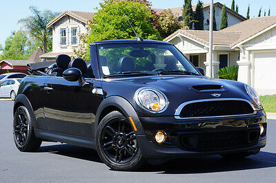 2014 Mini Cooper S Convertible 2-Door 2014 MINI COOPER S CONVERTIBLE, 50K MI, NAVIGATION, 6-SPEED, DON'T MISS!