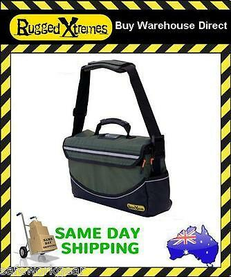 Rugged Xtremes Deluxe MEDIUM Canvas Tool Bag Crib Equipment Storage Extreme