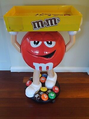 M&M's - STORE DISPLAY - RED - 105CM TALL - HIGHLY COLLECTIBLE!