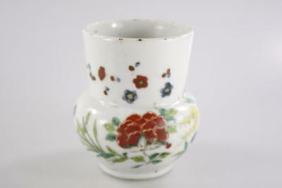 VINTAGE CHINESE EARLY 20th Century HAND PAINTED CERAMIC VASE marked