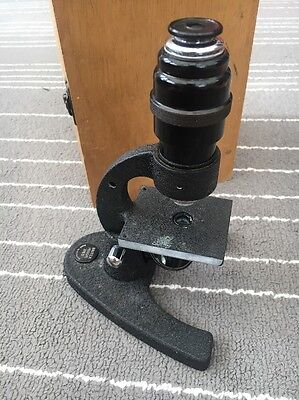 MICROSCOPE BRITEX Britex Minor 1763 With Case