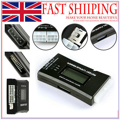 ATX Power Supply Tester Computer Power Failure Detection LCD Power Testers as07