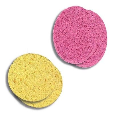 Deep Cleansing Facial Cellulose Sponges Pads Face Accessories Donegal 2pcs