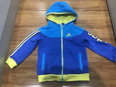 Adidas Kids Jacket With Hoodie Size 3-4