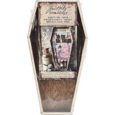 Tim Holtz Idea-Ology - Wooden Vignette Coffin Tray