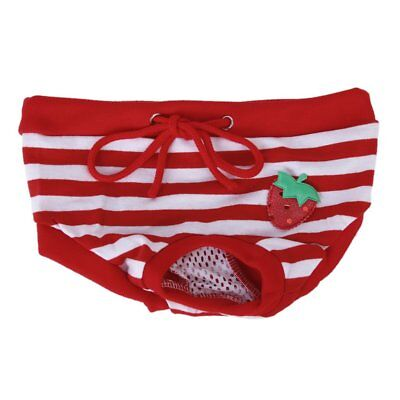 Female Pet Dog Hygienic Sanitary Diaper Pant Brief for Small Dog Z2X9