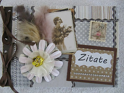 ~ Zitate ~ Album in Scrapbooking