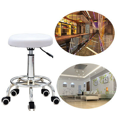 Beauty Salon Chair Massage Stool Hairdresser Barber Tattoo Therapy Styling White