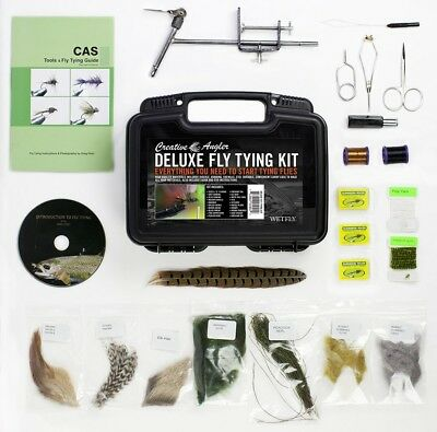 Creative Angler Deluxe Fly Tying Kit For Tying Flies. Our Most Popular Fly Kit