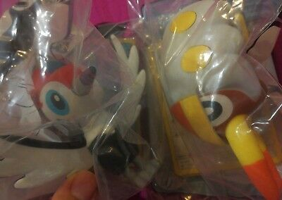 McDonald's 2017 Pokemon Sun Moon Grubbin & Pikipek New Sealed Happy Meal Figures