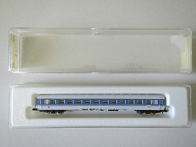 Marklin mini-club 8744 DB 2nd Class Coach Boxed 1:220 Z Scale