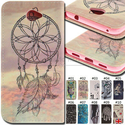 For Huawei Y7(2017) Case PU Leather Phone Card Stand Wallet Flip Fashion Cover