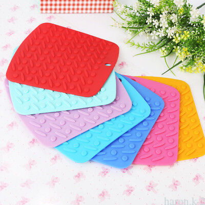 Kids Children Silicone Placemat Plate Dish Food Tray Table Mat for Baby Toddler