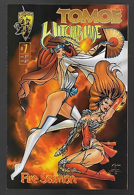 Tomoe Witchblade Fire Sermon #1 (Sept, 1996) First Print Billy Tucci NM+ 9.6