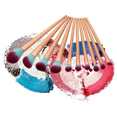 10pc Limited Edition Tarte Make Believe In Yourself Magic Wands Makeup Brush Set