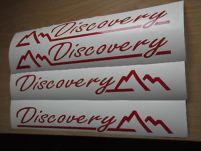 Land Rover Discovery Wing Panel Stickers X4