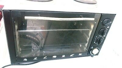 Lumina 34L Rotisserie Electric Oven And Cooker