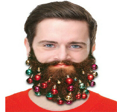 Beard Baubles Novelty Secret Santa Kris Kindle Stocking Filler Beard Accessories