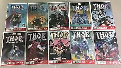 Thor God Of Thunder 1-25 Complete Set Jason Aaron The Accused Parts 1-5