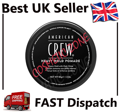 NEW IN American Crew Heavy Hold Pomade 85g FREE FAST SHIP