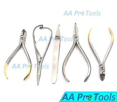 Orthodontic How Plier Str Hard Wire Cutter Distal End Mathieu Bracket DN-2031