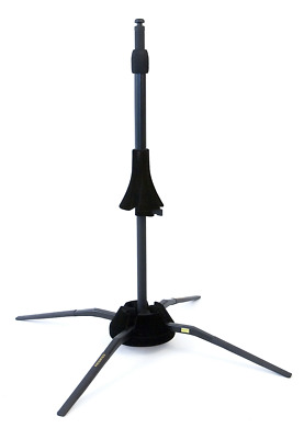 Hercules DS420B TraveLite Trombone Stand - Stores in Bell
