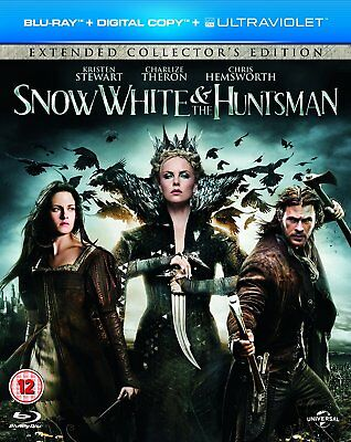 Snow White & The Huntsman ~ Blu-Ray Extended Edition { New & Sealed }