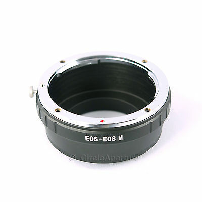 CANON EOS Mount SLR Lens to CANON EOS M Mirrorless Camera Mount Adapter Ring -AU