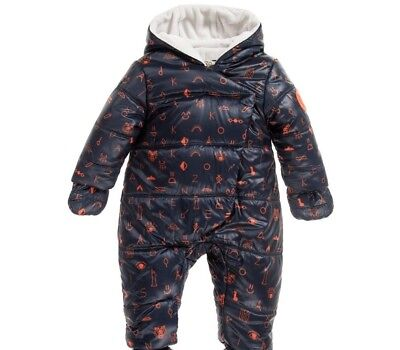 Kenzo Baby Tiger Friends Snowsuit 2 Years