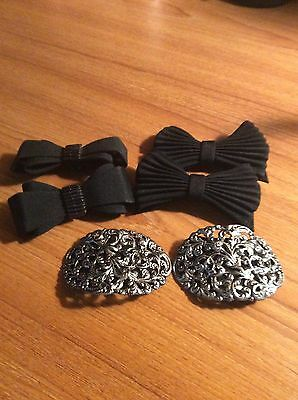 Set Of 3 Gorgeous Shoe Clips