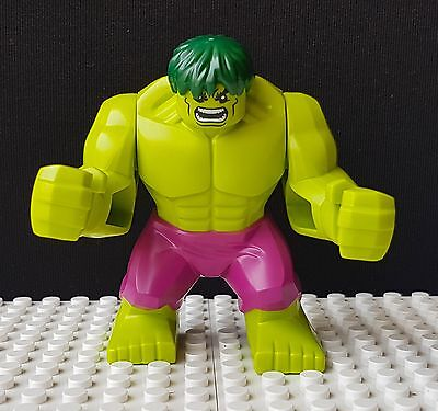 Hulk Official Lego Minifigure - Brand New (Split From 76078)