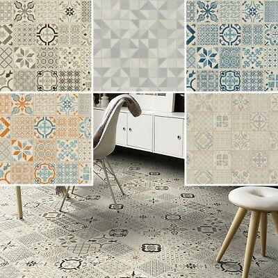 TARKETT Starfloor Retro Victorian Design Waterproof Click Tiles Vinyl Flooring