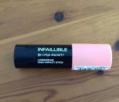 L'Oreal Infallible Blush Paint Longwear High Impact Stick pinkabilly