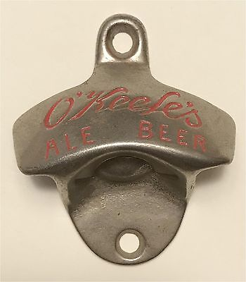 1930s O'Keefes Ale Beer Tornoto Canada Starr Type Wall Mount Bottle Opener O-5