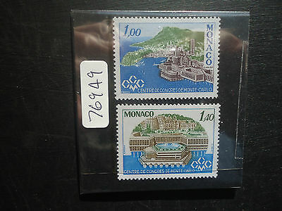 Monaco 1978 Congress Centre (2v Set) (SG 1339-1340) MNH