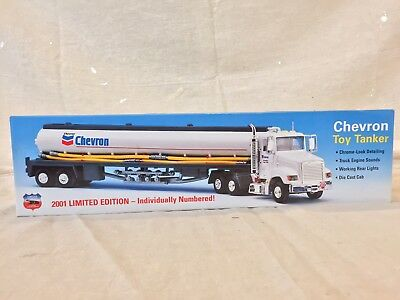 2001 Limited Edition Chevron Toy Tanker