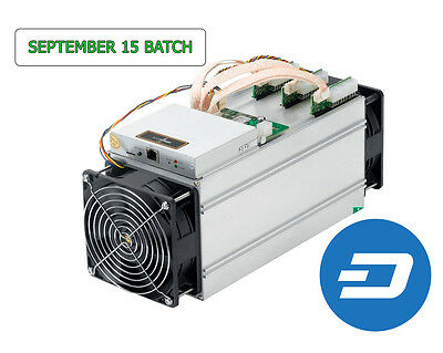 Bitmain Antminer D3 with Power Supply [September 15th Batch]