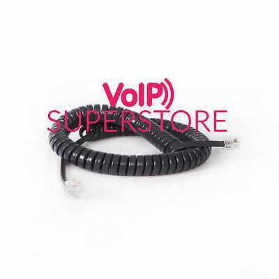 Avaya 1403 1416 1408 Telephone Handset Replacement Curly Cord Free Delivery