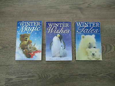 **set Of Childrens Books, Titles Of Winter Wishes, Winter Magic, Winter Tales**