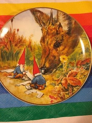 Unieboek Gnome Plate Gnome Made Rien Poortvliet 1982