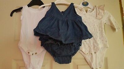 0 to 3 months baby girl gap bundle