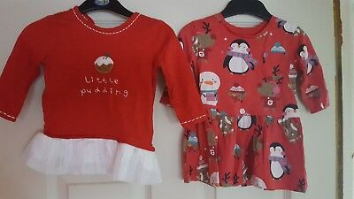 3 to 6 months girls chtistmas bundle