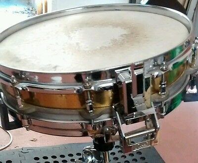 """Pearl Brass Free Floating Piccolo Snare - 14"""" x 3.5"""""""