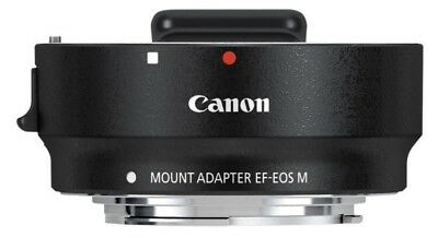 Canon EF-EOS M Mount Adapter for EF Lens to EF-M EOS M Camera