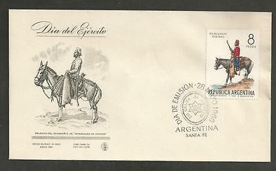 ARGENTINA - 1966 Army Day -  FD COVER.