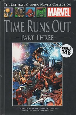 Time Runs Out Part Three (Ultimate Marvel Graphic Novel Collection issue 148)