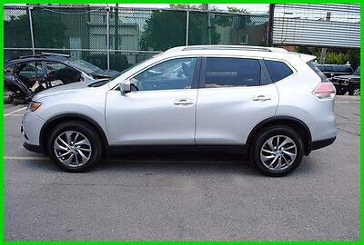2014 Nissan Rogue SL L AWD Navigation Nav Repairable Rebuildable Salvage Wecked EZ Project Save Big
