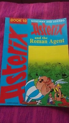 Asterix and the Roman agent comic