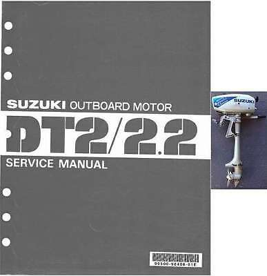 87-97 Suzuki DT2 DT2.2 Two Stroke Outboard Motor Service Repair Manual CD - DT 2